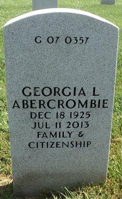 Georgia Lee <i>Vaughn</i> Abercrombie