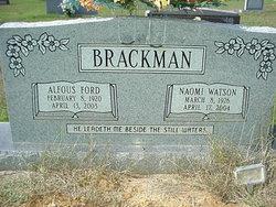 Alfous F Brackman