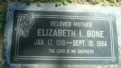 Elizabeth I. <i>Dawson</i> Bone