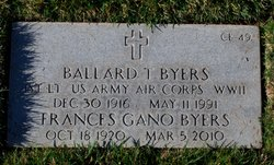 Ballard T Byers