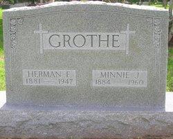 Minnie Johanna <i>Joseph</i> Grothe