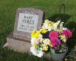 Mary Christine <i>Peebles</i> Ayres