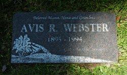 Avis R. Webster