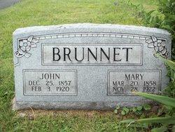 Mary <i>Emanuel</i> Brunnet