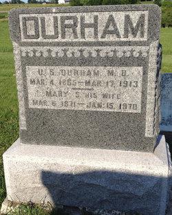 Mary Susan <i>Capp</i> Durham