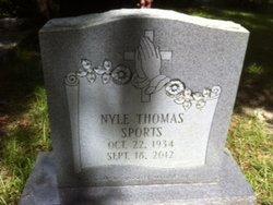 Sgt Nyle Thomas Sports, Sr