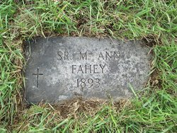 Sr Mary Ann Fahey