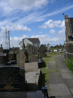 Saint Michael's Churchyard, Loughor