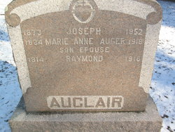 Marie Anne <i>Auger</i> Auclair
