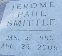 Jerome Paul Jerry Smittle