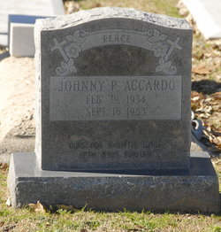 Johnny P Accardo