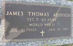 James Thomas Addison