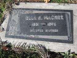 Ella Ruth Hachez
