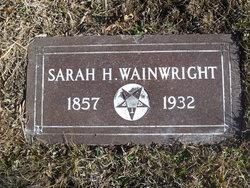 Sarah H. Sallie <i>Odor</i> Wainright