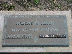 D. Arlene H Allen