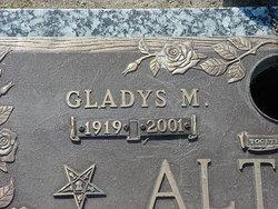 Gladys M Altman
