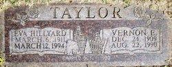 Eva <i>Hillyard</i> Taylor