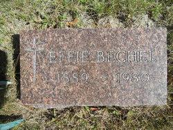 Effie <i>Johnson</i> Bechel