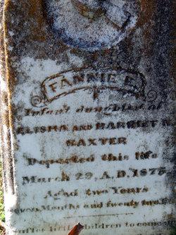 Fannie E. Baxter