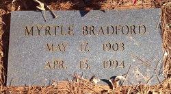 Myrtle <i>Fergeson</i> Bradford