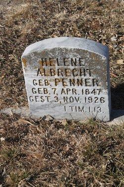 Helene <i>Penner</i> Albrecht