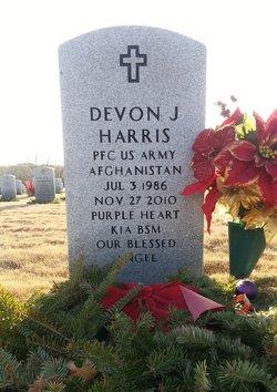 PFC Devon J Harris