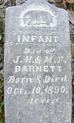 Infant Dau. Barnett
