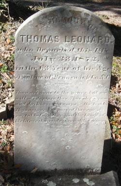 Dr Thomas Leonard