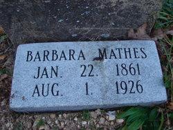 Barbara Elizabeth <i>Asher</i> Mathes