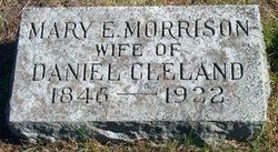 Mary E <i>Morrison</i> Cleland
