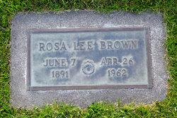 Rosa Lee Rosella <i>Dillman</i> Brown