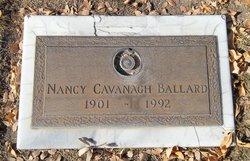 Nancy <i>Cavanagh</i> Ballard