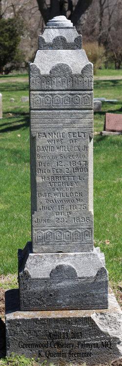 Harriett L <i>Willock</i> Atchley