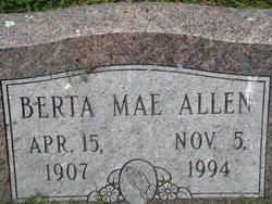 Berta Mae Allen