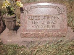 Alice <i>Coleman</i> Brieden