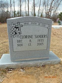 Clorine Sanders