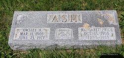 Margaret <i>Price</i> Ash