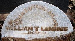 William Thaniel Landrie