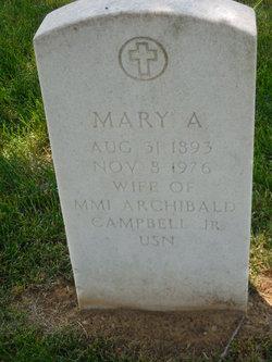 Mary Agnes Mayme <i>Graeve</i> Campbell