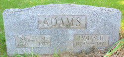 Nellie May <i>Moses</i> Adams
