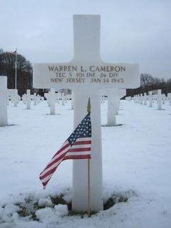 Tec5 Warren L Cameron