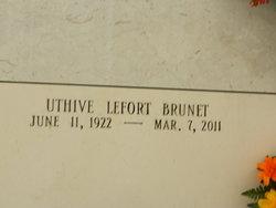 Uthive <i>Lefort</i> Brunet