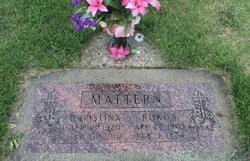 Christina <i>Miller</i> Mattern