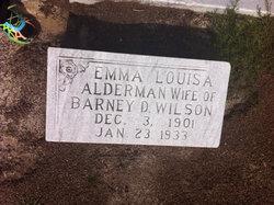 Emma Louise <i>Alderman</i> Wilson
