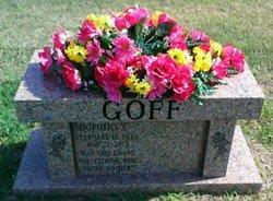 Dorothy E Goff