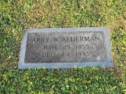 Arry Willis Alderman