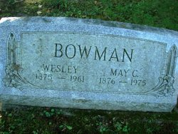 Carrie May <i>Lane</i> Bowman