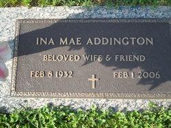 Ina Mae <i>Nickels</i> Addington