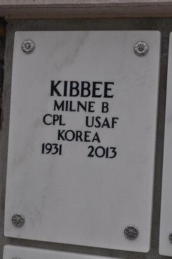 Milne B Mil Kibbee