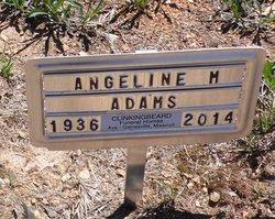 Angeline M. Angie <i>King</i> Adams